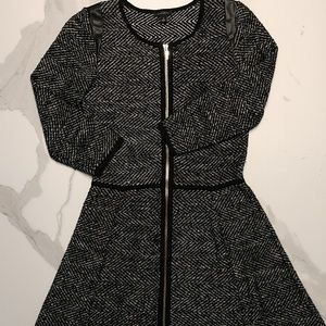 Ann Taylor 3/4 Sleeve Sweater Dress Size S